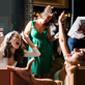 Leilah's wedding guests dancing at her North London wedding