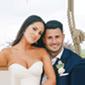 Bride Stephanie and Groom Adam